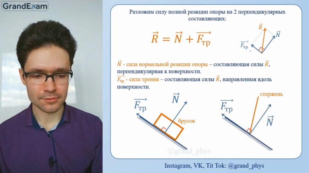 ЕГЭ по физике: силы трения